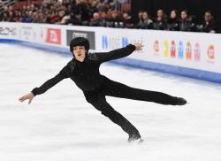 차준환, 아쉬운 점프 실수...세계선수권 쇼트 18위