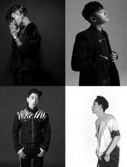 AOMG, 오디션 예능 론칭...박재범·쌈디·그레이 총출동