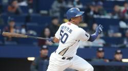 NC 베탄코트, 창원NC파크 정규시즌 첫 홈런 주인공