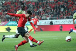 '손흥민·이재성 연속골' 한국, 콜롬비아 2-1 제압