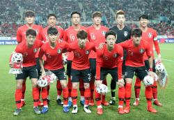 한국 축구대표팀, 6월 A매치 기간에 호주·이란과 평가전