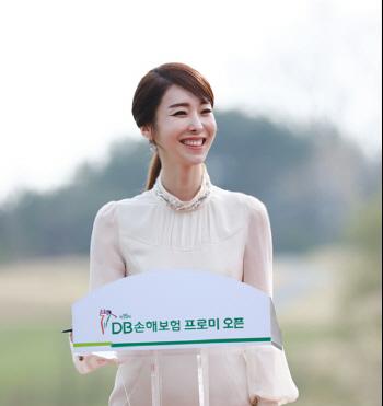 [포토]김미영 아나운서버디 기부금 많이 모여 기분좋아요