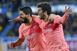 바르셀로나, 알라베스 2-0 제압…리그 우승에 '성큼'