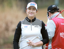 [포토] 여전사 김아림 '언제나 예의바른 인사'