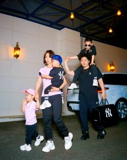 양동근, 스웨그 넘치는 가족사진 공개