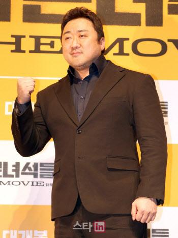 마동석, 영화 '압구정 리포트' 출연 일정조율 중