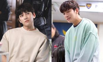 '편의점 샛별이' 지창욱, 촬영 비하인드컷 공개…'장난기 가득'