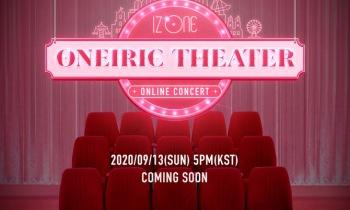 아이즈원, 온라인 콘서트 '오나이릭 씨어터' 개최