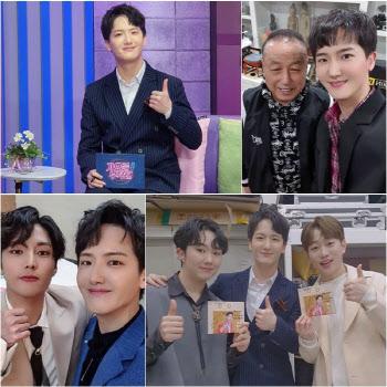 하동근, '미스터트롯' 동기 안성훈·남승민과 깜짝 조우