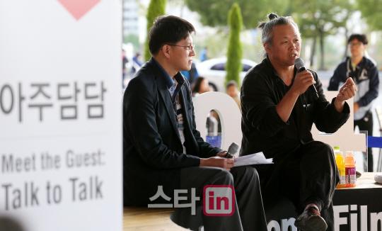 [포토]19회 BIFF 아주담담 `로쟈, 김기덕을 만나다`