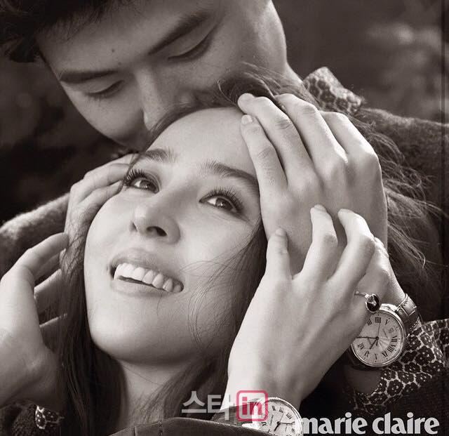 """한혜진♥기성용 부부, 만삭 화보 공개…""""역시 비주얼 부부"""""""