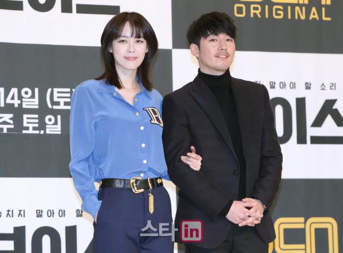 [포토]OCN 드라마 `보이스`의 악연 케미, 배우 장혁-이하나