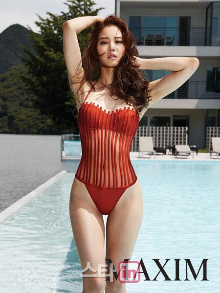 황승언, 맥심 역대 표지 모델 중 겸손퀸으로 등극