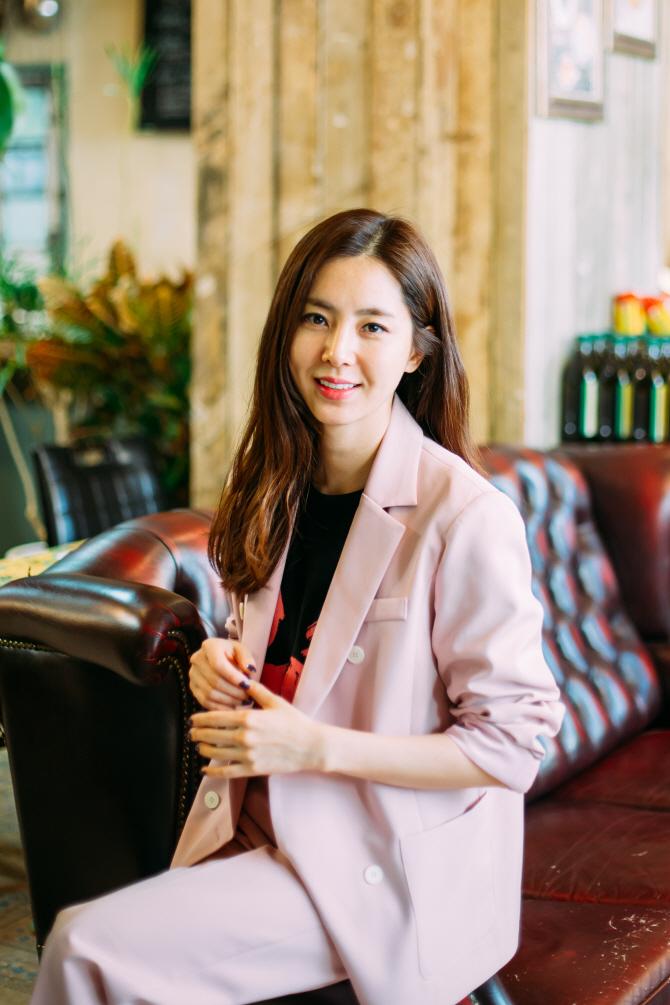 """한채아 """"차세찌, 열애 고백 잘했다고…본격 액션 연기 관심""""(인터뷰)"""