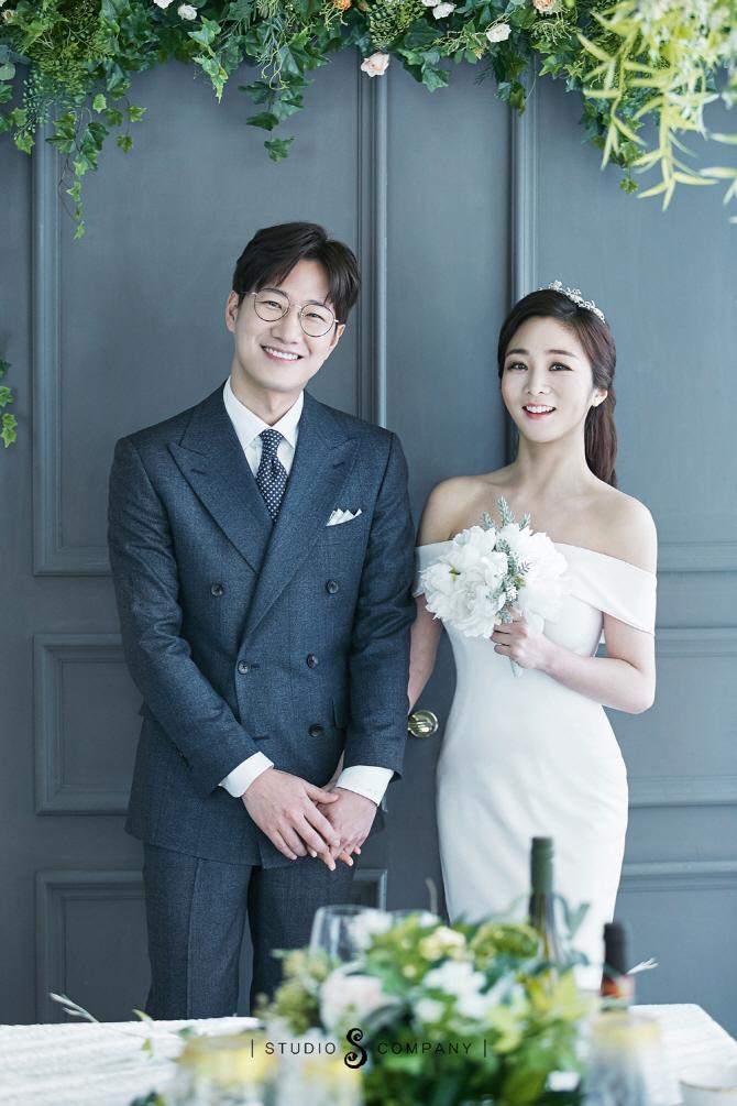 [포토]'결혼' 조우종♥정다운 아나, 선남선녀 커플