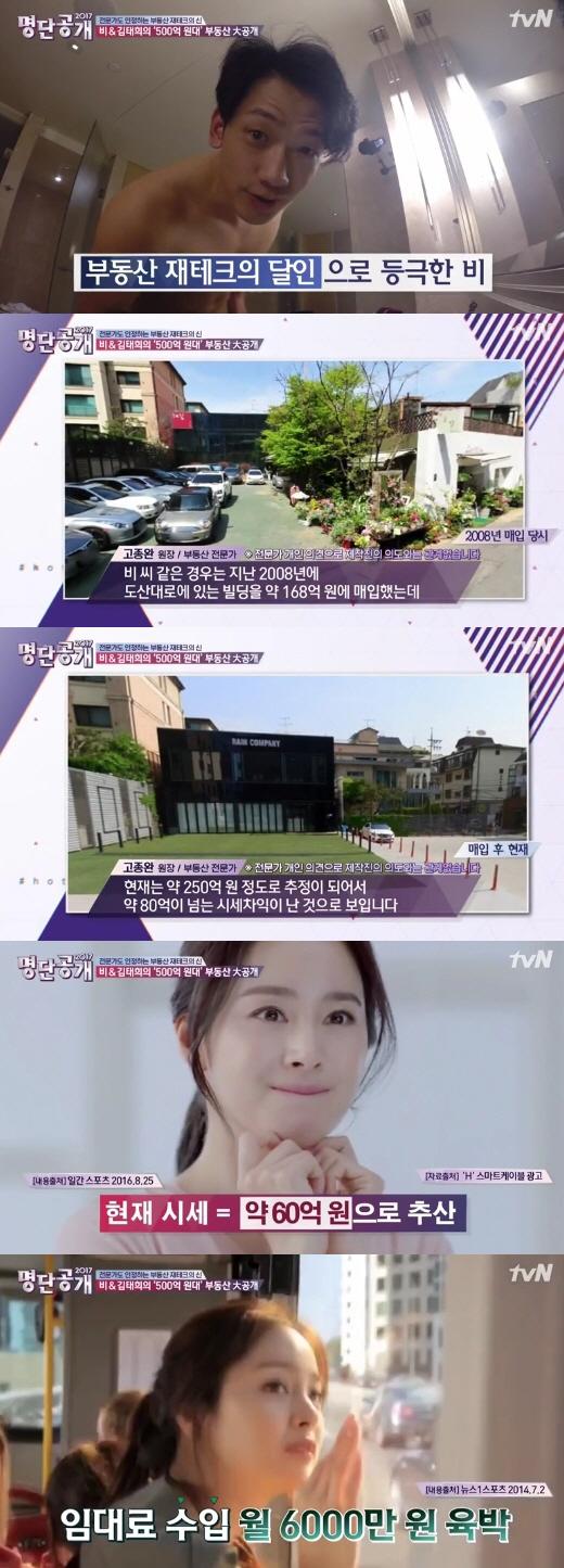 비-김태희 부부, 500억대 부동산 `재테크의 신`