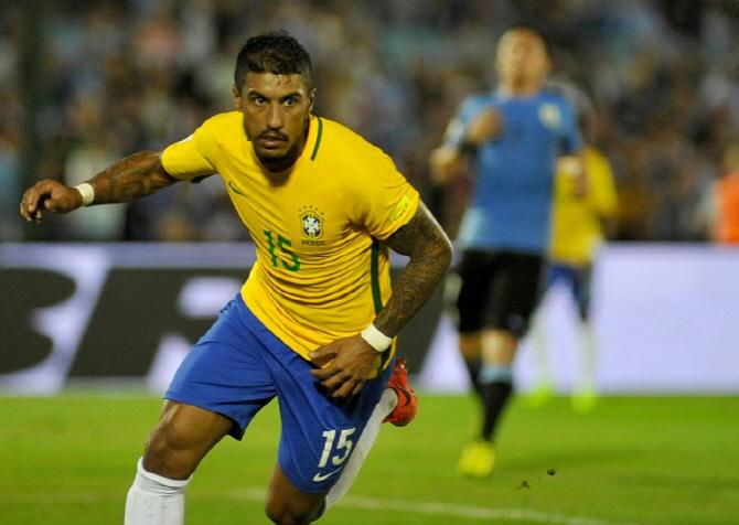 '파울리뉴 해트트릭' 브라질, 우루과이에 대승…아르헨, 칠레 제압