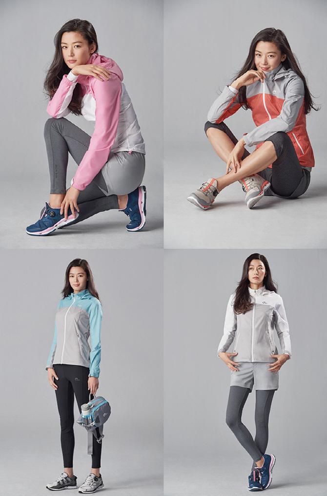 전지현, 스타일리시한 러닝룩…몸매 甲