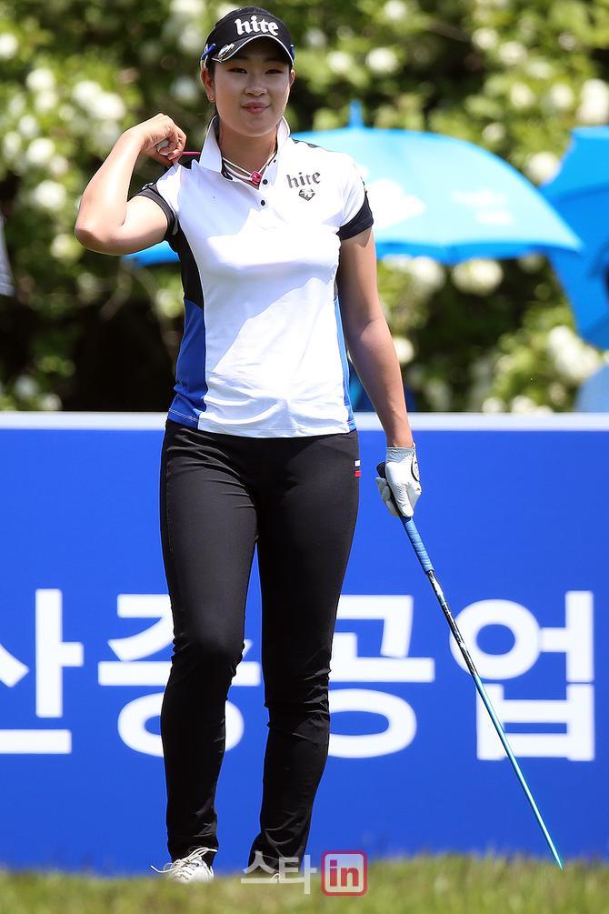 [포토] 여전사 김아림, '오직 승리뿐'