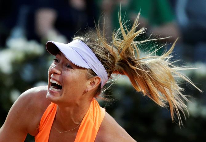 [포토] 로마 오픈 테니스 `샤라포바`