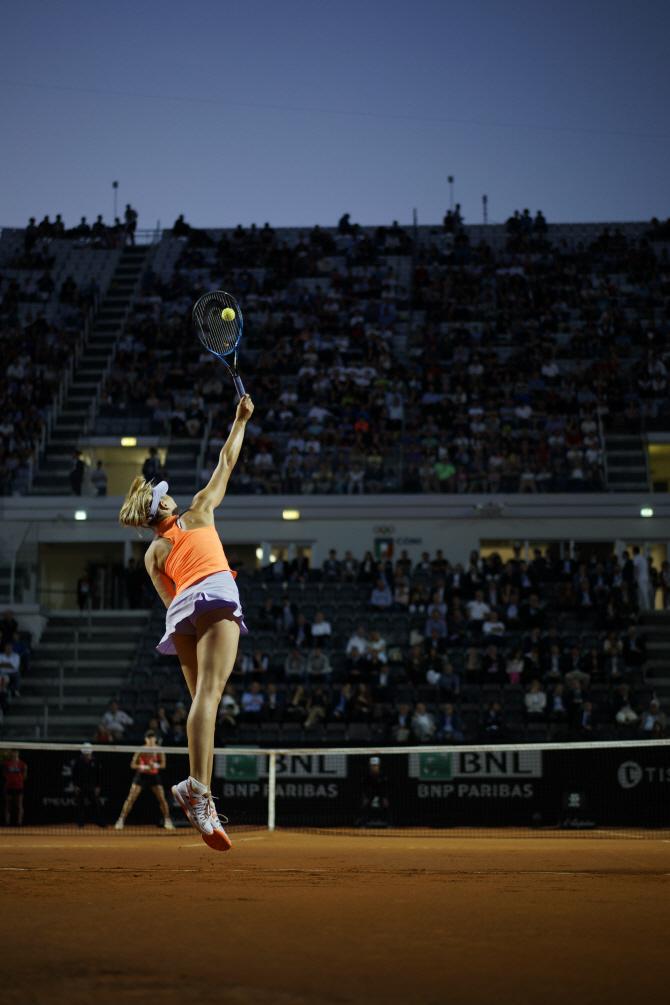 [포토] 로마 오픈 테니스 `서브`