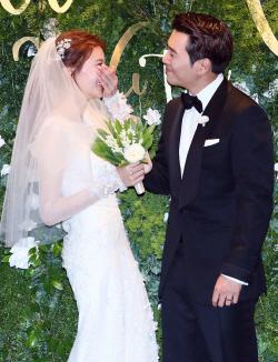 배우 주상욱-차예련 결혼식