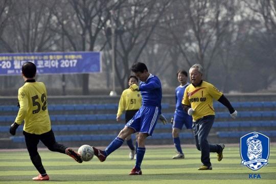한국 축구, 정식 등록선수 10만명 시대 활짝 열렸다
