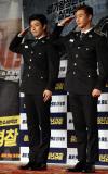 [포토]강하늘-박서준 '청년경찰 파이팅'