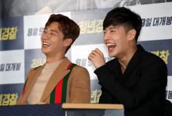 영화 '청년경찰' 언론시사회