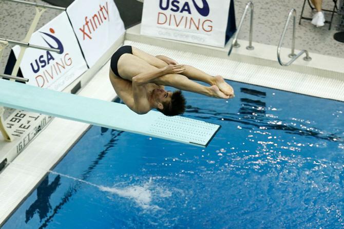 [포토]美 다이빙 챔피언십, `최대한 집중`