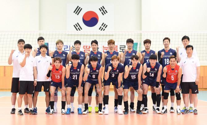 한국 남자배구, 아시아 최강 이란에 완패...2연패 수렁