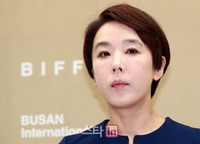 [포토]강수연, '올해 부산국제영화제 마치고 사퇴'