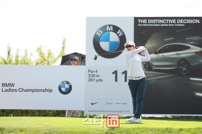 박지영, '돈잔치' BMW 챔피언십 1라운드 단독 선두