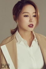 `야구 여신` 김민아, 패션 화보