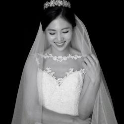 이동진♥김지연, 웨딩화보