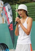 전미라와, `원 포인트 테니스 레슨`