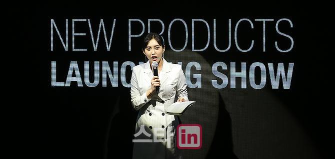 [포토] 야구여신 홍재경아나 '2018 볼빅 론칭쇼 깔끔한 진행'