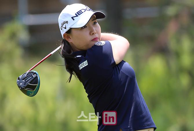 [포토] 김보아 '2주 연속 준우승은 없다 오직 우승이다'