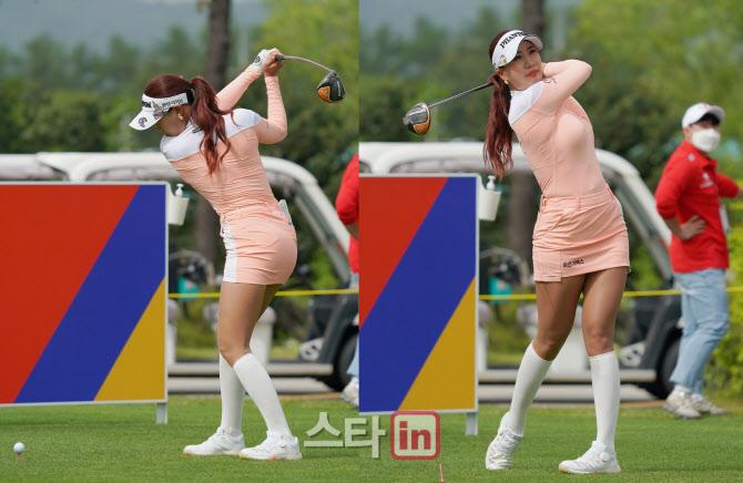 """[골프樂]유현주 """"손과 몸이 하나 돼 회전하는 몸통 스윙 해야 해요"""""""