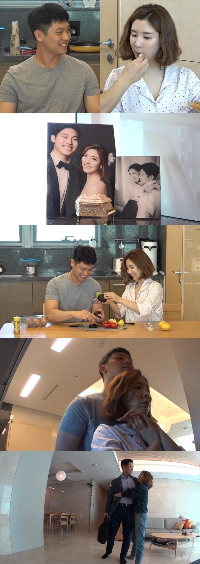 '전참시' 함연지, 훈남 남편과 신혼생활 공개…'껌딱지 부부'