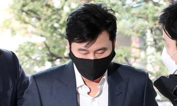 '원정도박' 양현석, 1심서 벌금 1500만원 선고