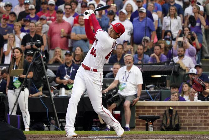 오타니, 홈런 28개 때리고도 홈런더비 탈락...알론소 2연패