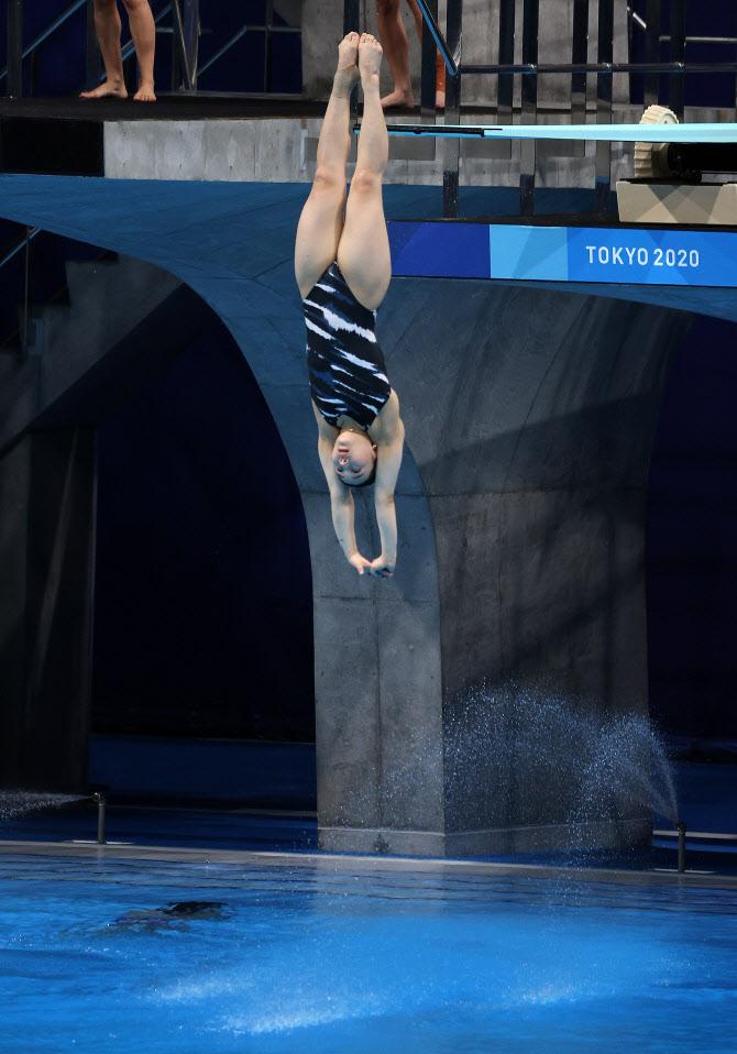 [도쿄올림픽]다이빙 김수지, 여자 선수 최초 올림픽 예선 통과