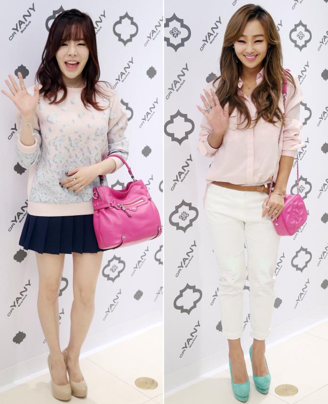 써니-효니 '우린 핑크가 좋아!'