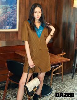 설현 패션화보 공개…'여성들의 워너비'