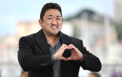 """[칸리포트]마동석 """"칸 입성 특별해…'악인전' 하느라 '존윅3' 거절"""""""