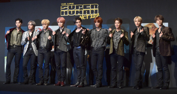NCT127 `NCT #127 WE ARE SUPERHUMAN` 제작발표회