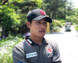 5언더파 몰아친 박은신, KB금융 리브챔피언십 톱10 발판 마련