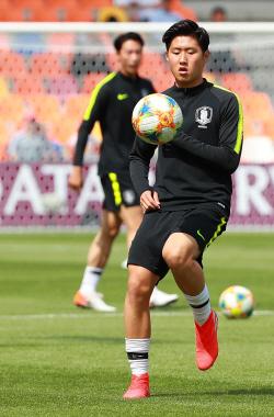 [U-20 월드컵]조영욱-전세진, 포르투갈전 투톱...이강인 선발
