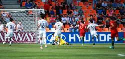 [U-20 월드컵]한국, 7분 만에 선제 실점...0-1 전반 마감